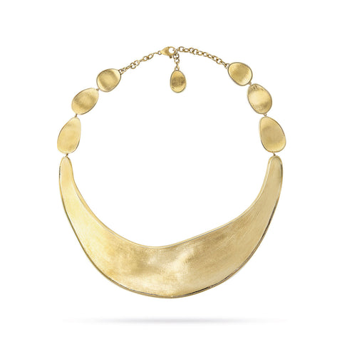 Unico Gold Wide Collar Necklace
