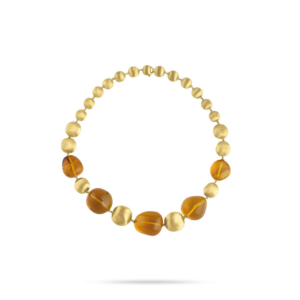 Unico Africa Gold and Amber Collar