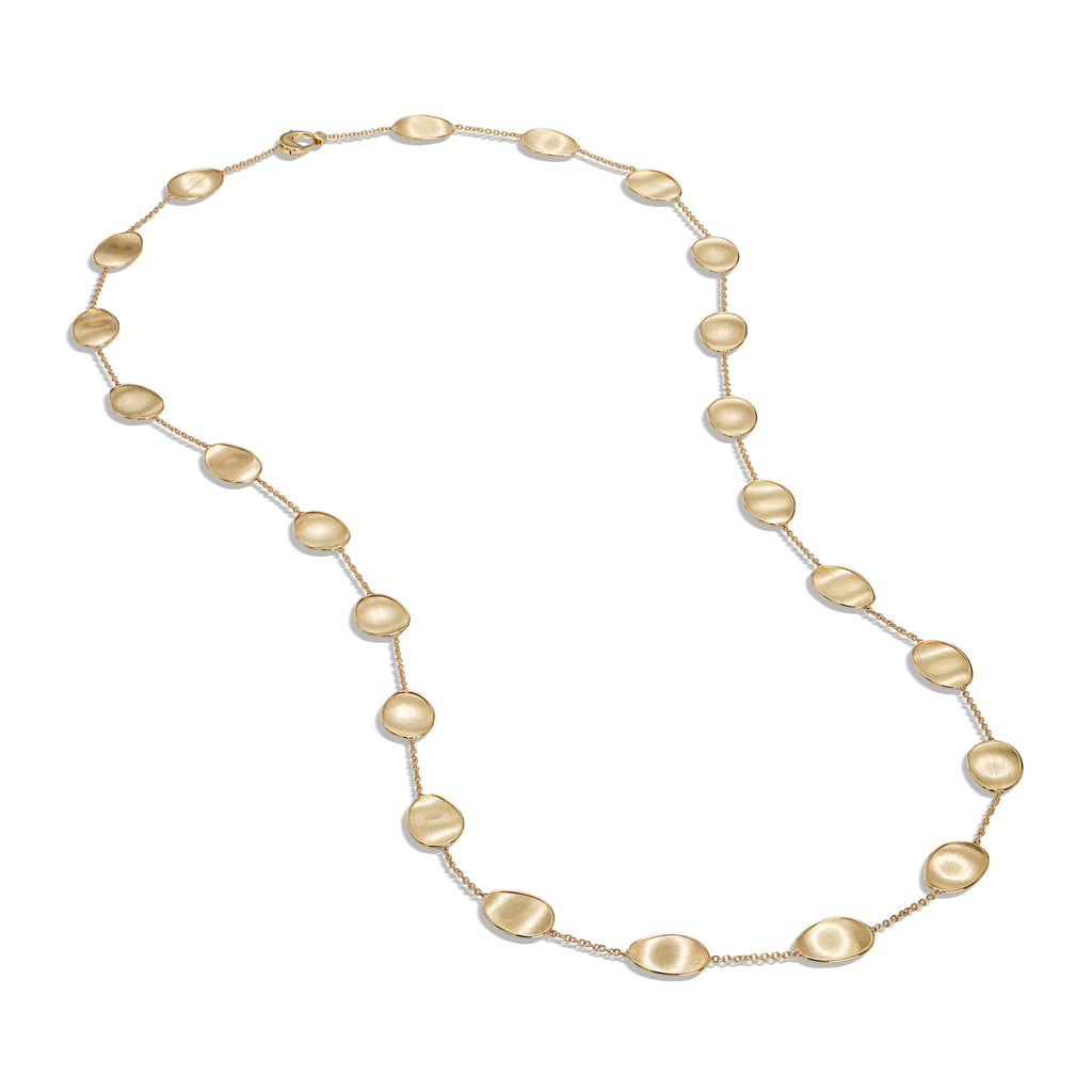 Marco Bicego® Lunaria Collection 18k Yellow Gold Long Necklace
