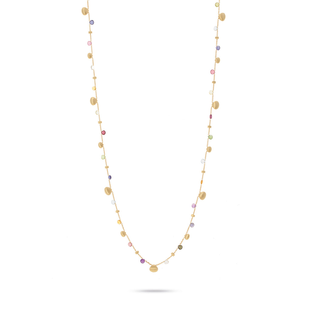 Marco Bicego Paradise Graduated Three-Strand Necklace 50C23