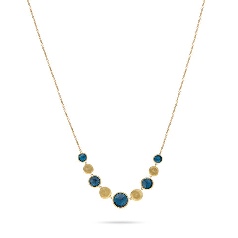 Jaipur London Blue Topaz Chain Necklace