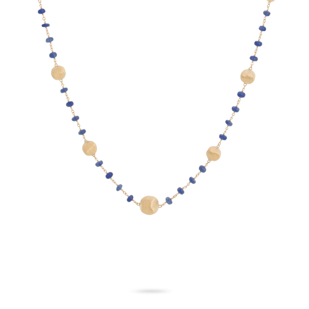 Africa Sapphire Single Strand Necklace