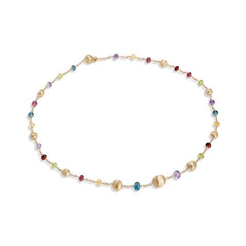 Marco Bicego® Africa Collection 18K Yellow Gold Mixed Gemstone Necklace