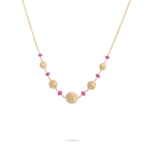 Africa Ruby Necklace