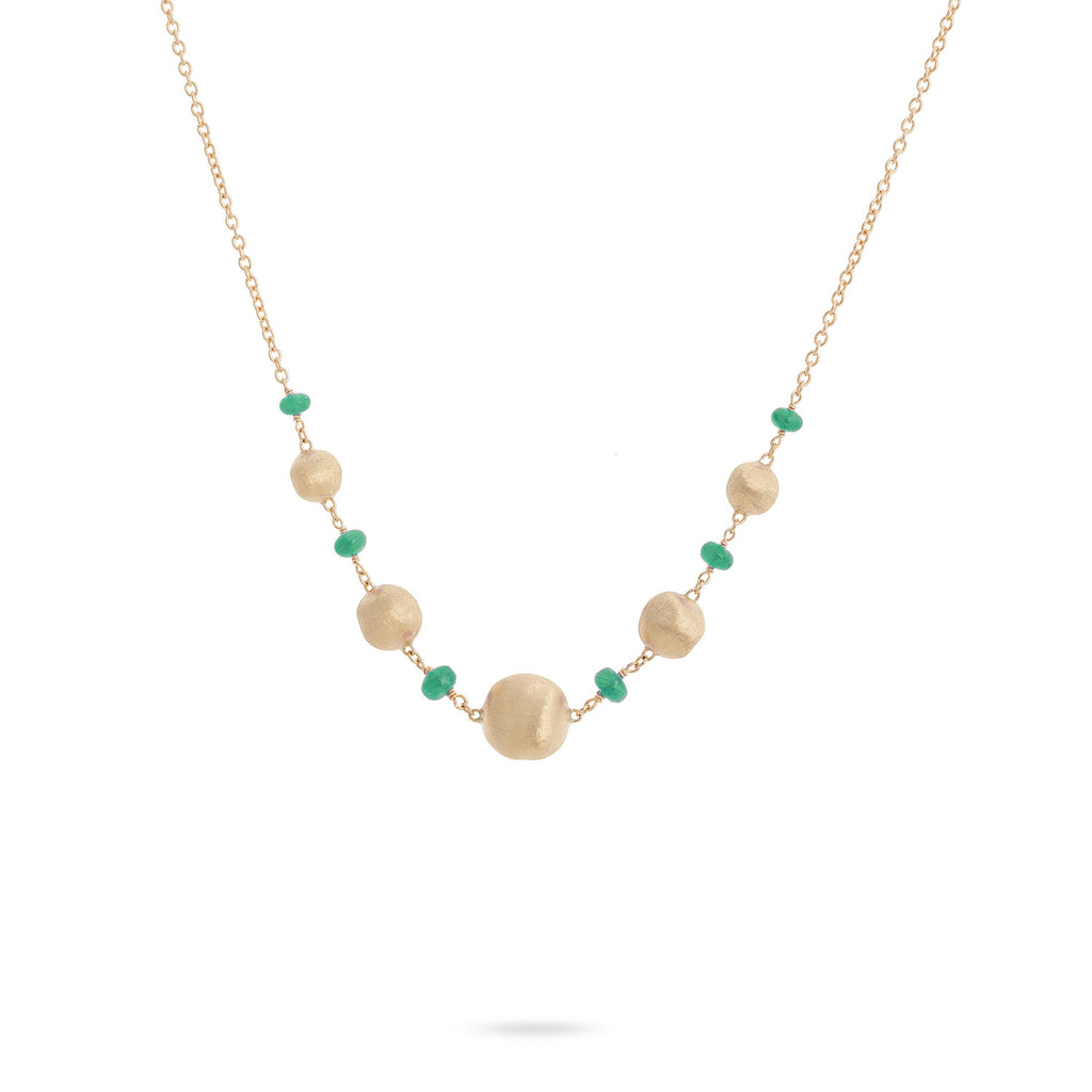 Africa Emerald Necklace