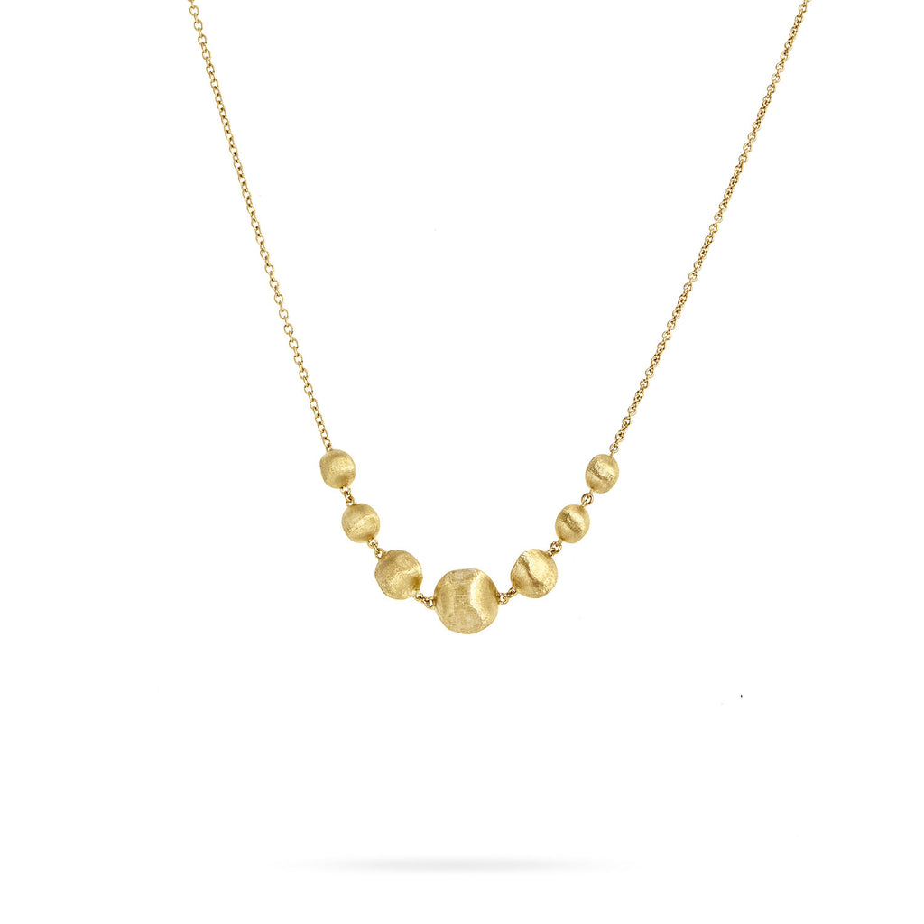 Africa 18K Yellow Gold Necklace