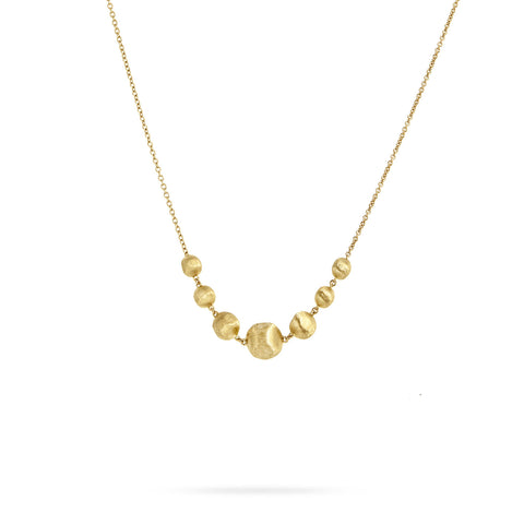Africa Gold Necklace