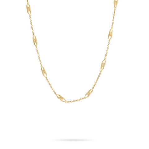 Marco Bicego® Lucia Collection 18K Yellow Gold Link Necklace