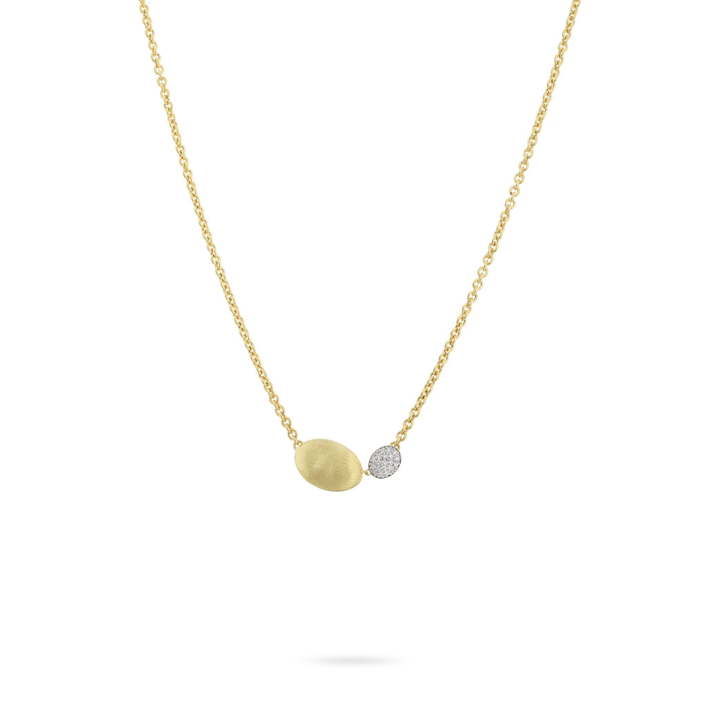 Marco Bicego® Siviglia Grande 18K Yellow Gold and Diamond Pendant