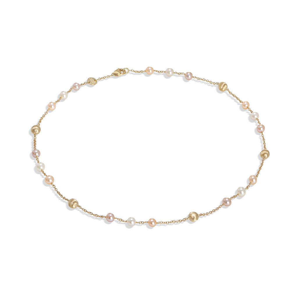 Marco Bicego® Africa Pearl Collection 18K Yellow Gold and Pearl Short Necklace
