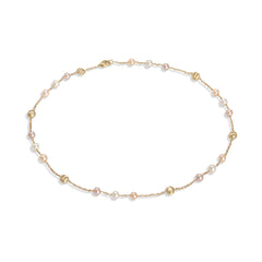 Marco Bicego® Africa Pearl Collection 18K Yellow Gold and Pearl Short Necklace image 1