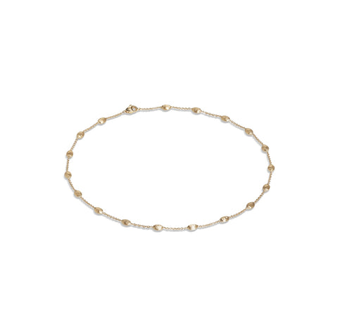 Marco Bicego® Siviglia Collection 18K Yellow Gold Small Bead Short Necklace