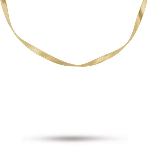 Marrakech Supreme Yellow Gold Single Strand Necklace