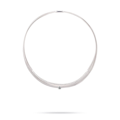 Unico Masai White Gold & Diamond Necklace