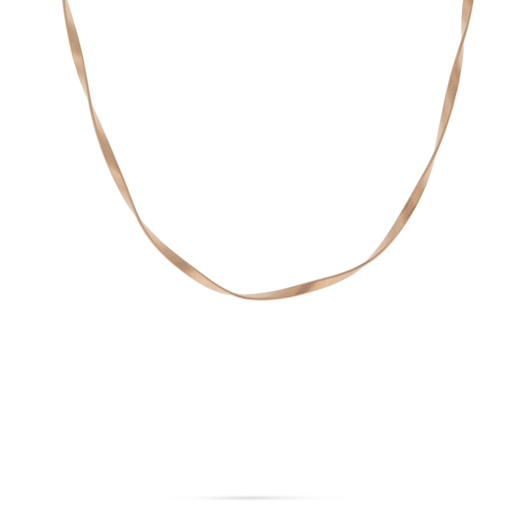 Marrakech Supreme Rose Gold Single Strand Necklace