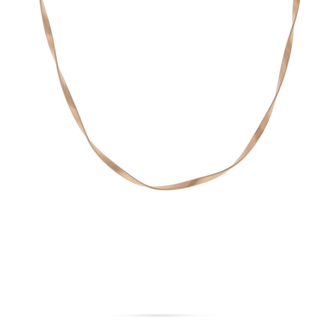 Marco Bicego® Marrakech Collection 18K Rose Gold 3.7mm Single Strand Necklace