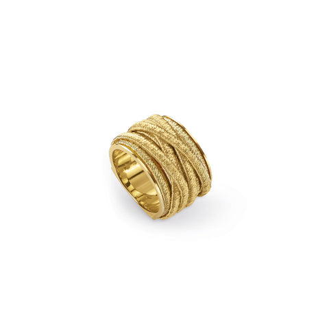 Cairo 18K Yellow Gold Nine Strand Ring
