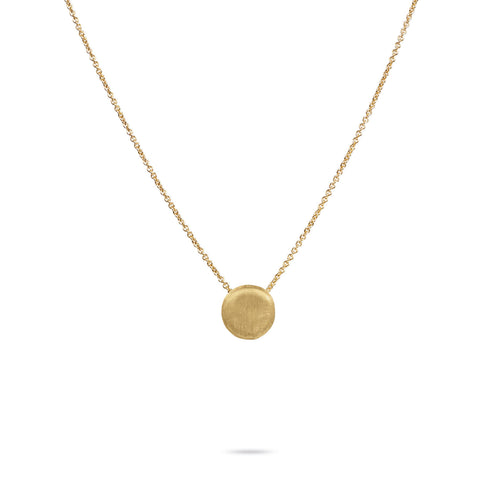 Marco Bicego® Delicati Collection 18K Yellow Gold Disc Bead Pendant
