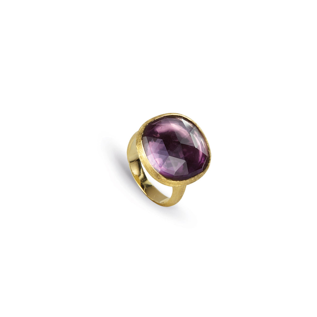 18K Gold Amethyst Cocktail Ring