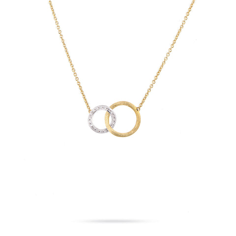 Jaipur Link 18K Yellow Gold and Diamond Small Pendant