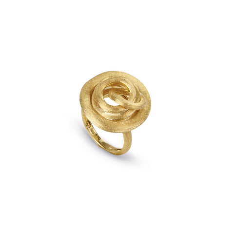 Jaipur Link Gold Knot Cocktail Ring