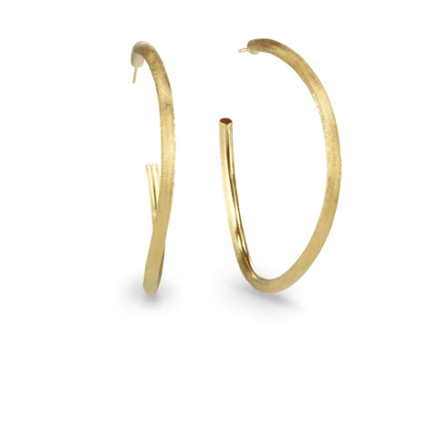 Marco Bicego® Jaipur Collection 18K Yellow Gold Large Hoop Earrings