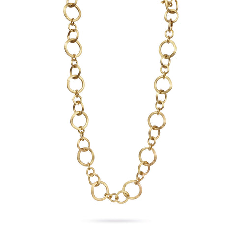 Jaipur Link Gold Medium Gauge Convertible Necklace