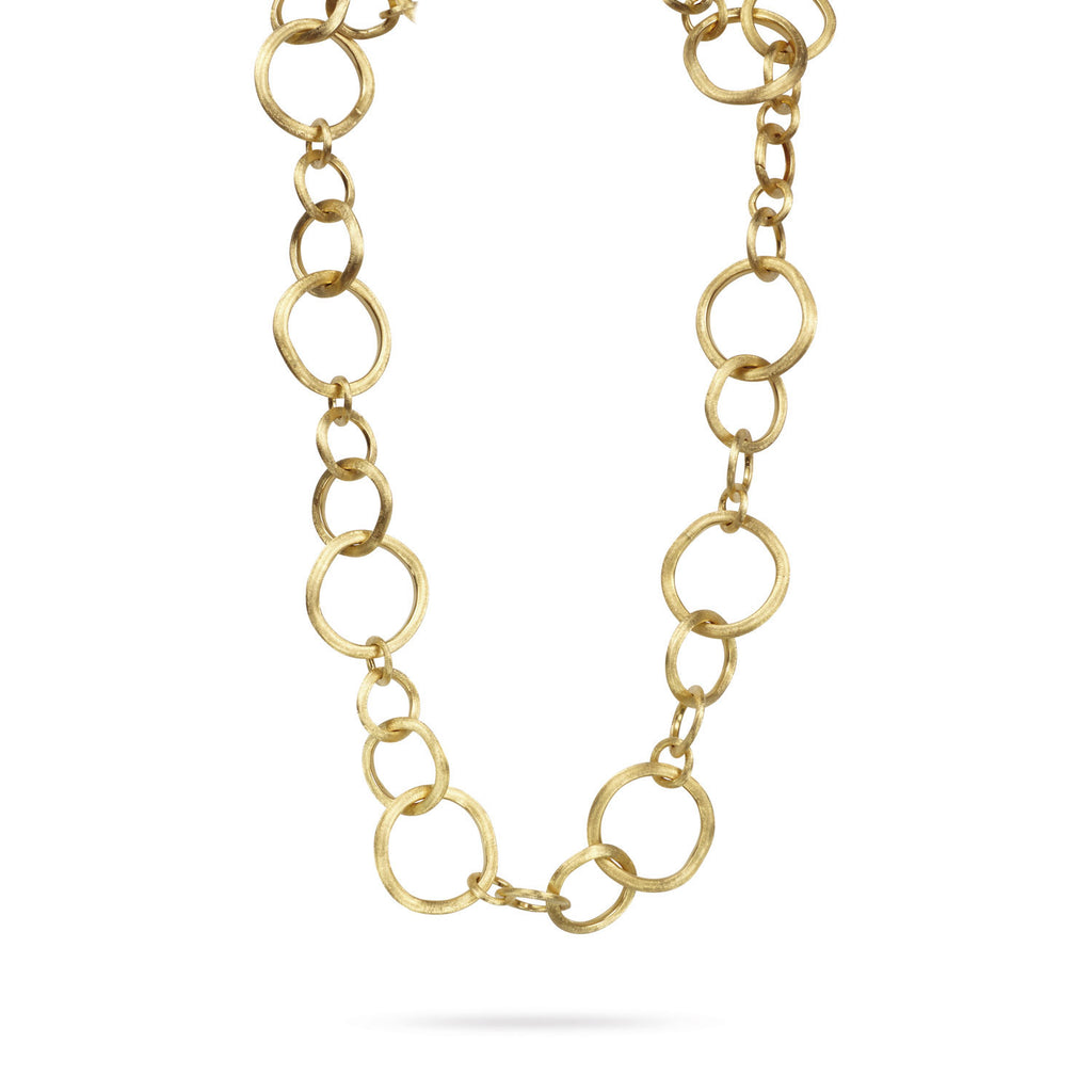 18K Gold Convertible Link Necklace