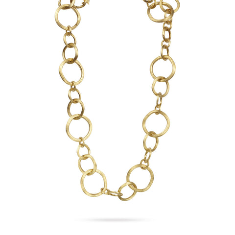 Jaipur Link Gold Large Gauge Convertible Necklace