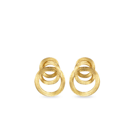 Jaipur Link Gold Large Knot Earrings