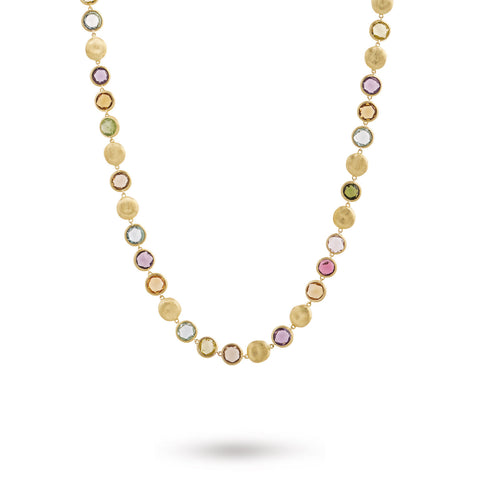 "Jaipur Mixed Gemstones 30"" Necklace"