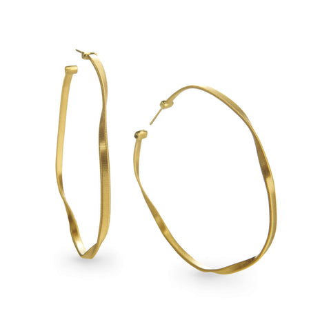 Marrakech Gold Large Hoop Earrings