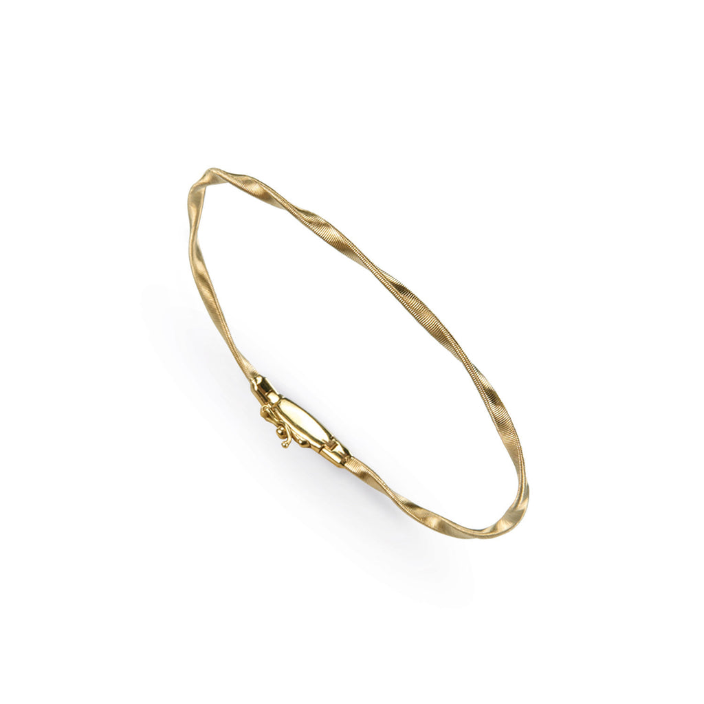 18K Gold Stackable Bangle