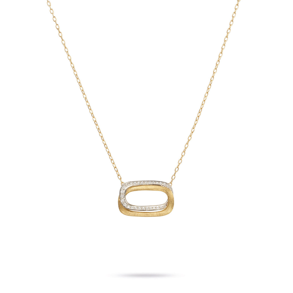 18K Gold & Diamond Pendant