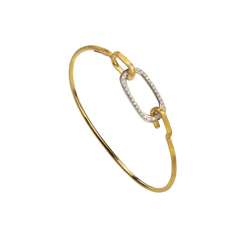 Murano Gold & Diamond Bangle