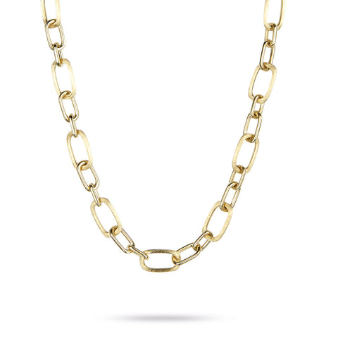 Murano Gold Medium Link Necklace