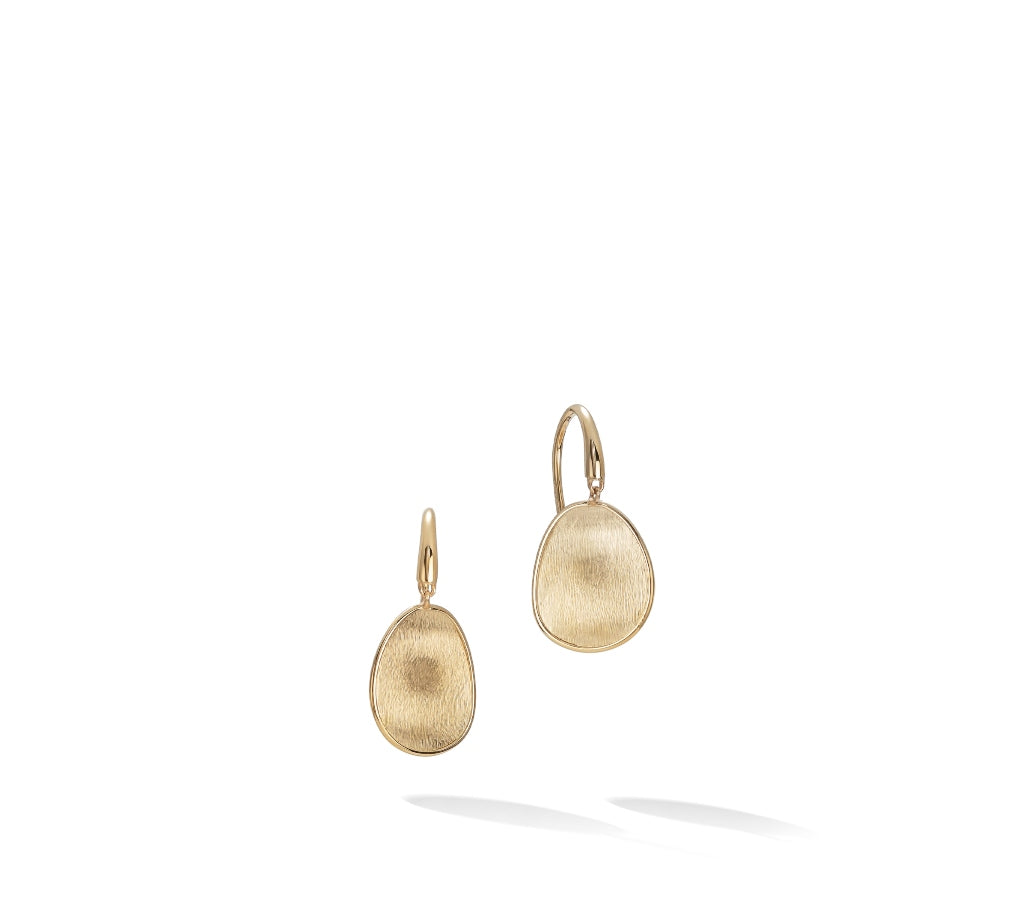 Marco Bicego® Lunaria Collection 18K Yellow Gold Petite Drop Earrings