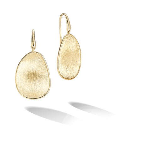 Marco Bicego® Lunaria Collection 18K Yellow Gold Medium Drop Earrings