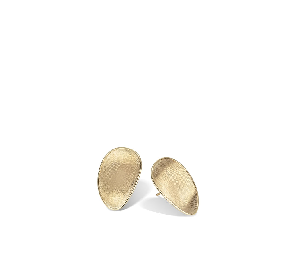 Marco Bicego® Lunaria Collection 18K Yellow Gold Stud Earrings