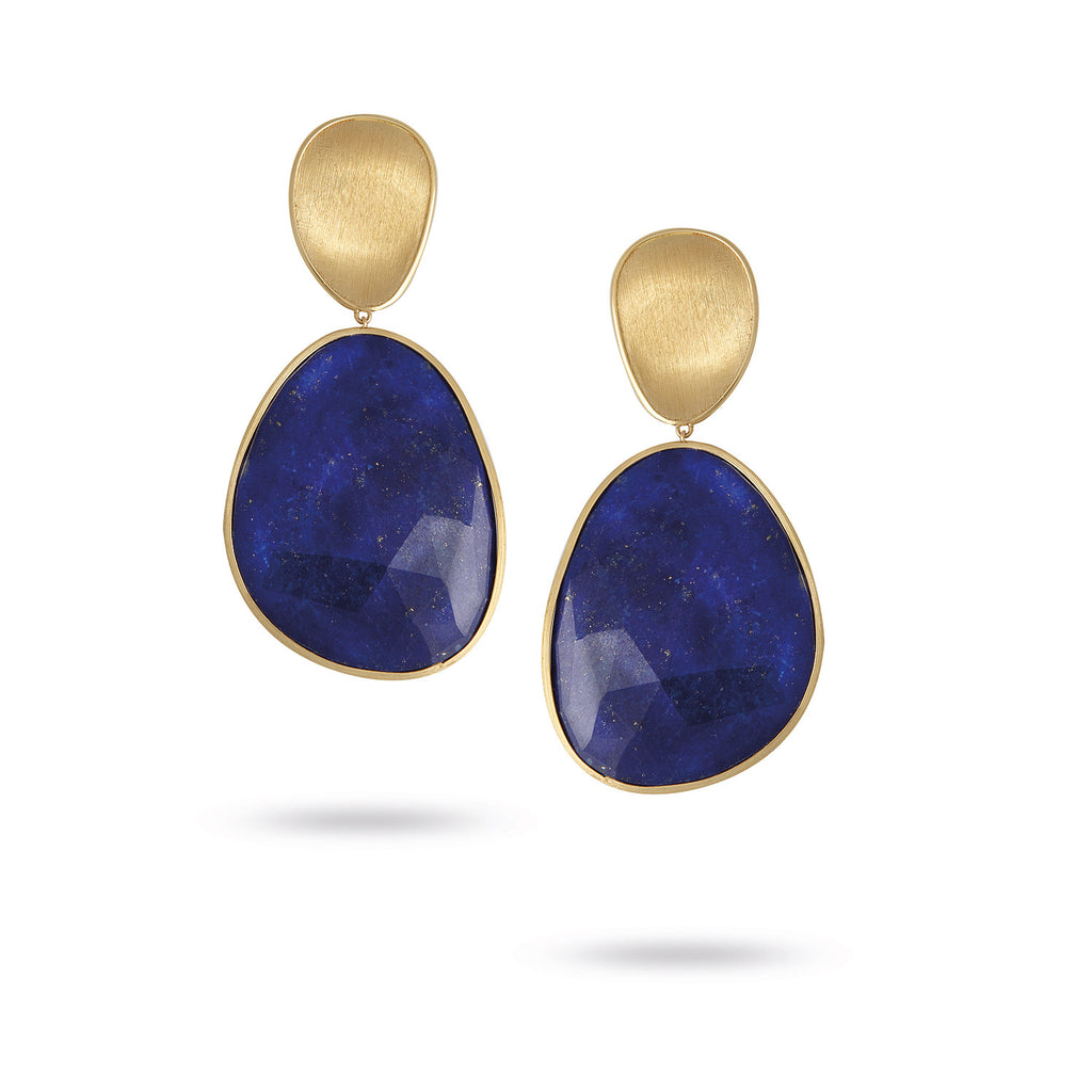 nastaran and zivarish jewellery earrings silver lapis product