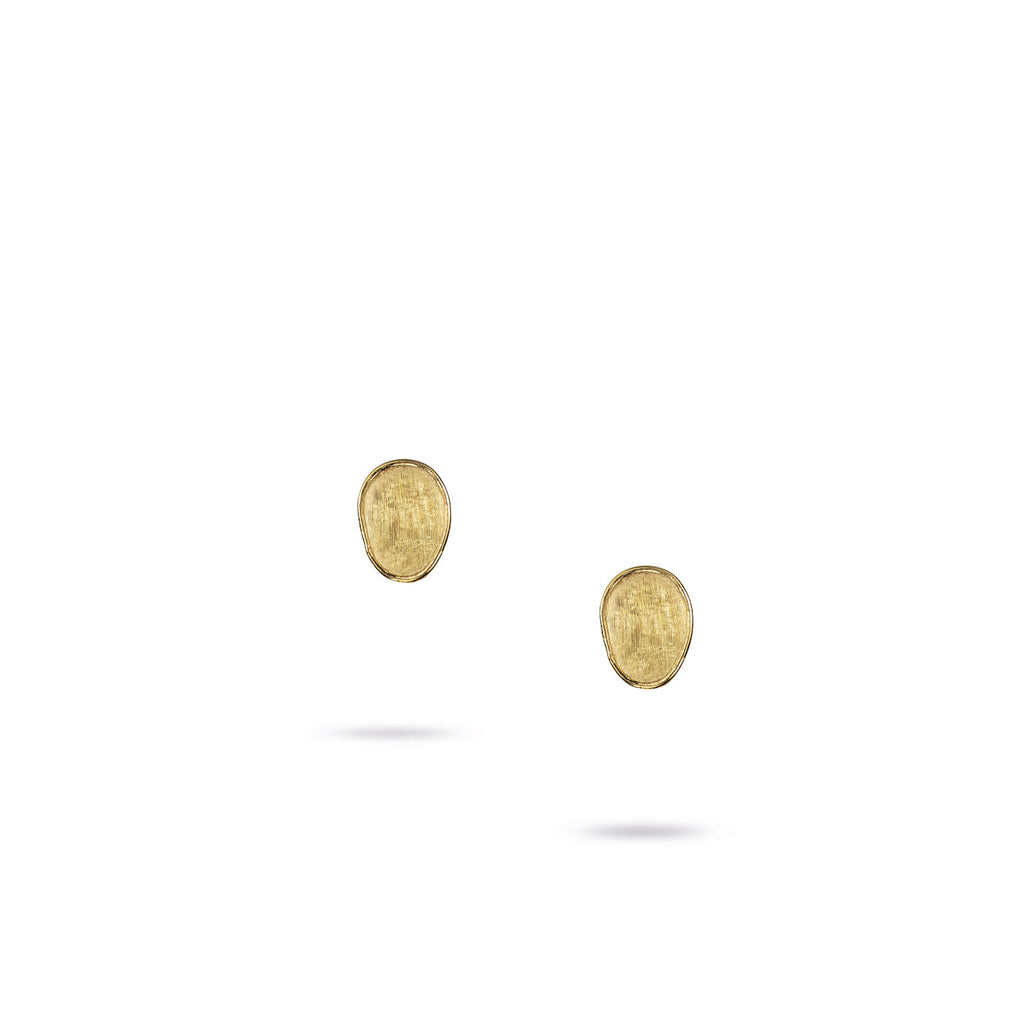 Lunaria Gold Mini Stud Earrings