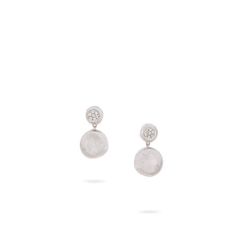 Jaipur Diamond White Small Drop Earrings