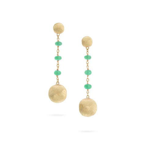 Africa Emerald Drop Earrings
