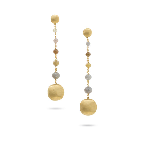 Africa Stellar Long Drop Earrings