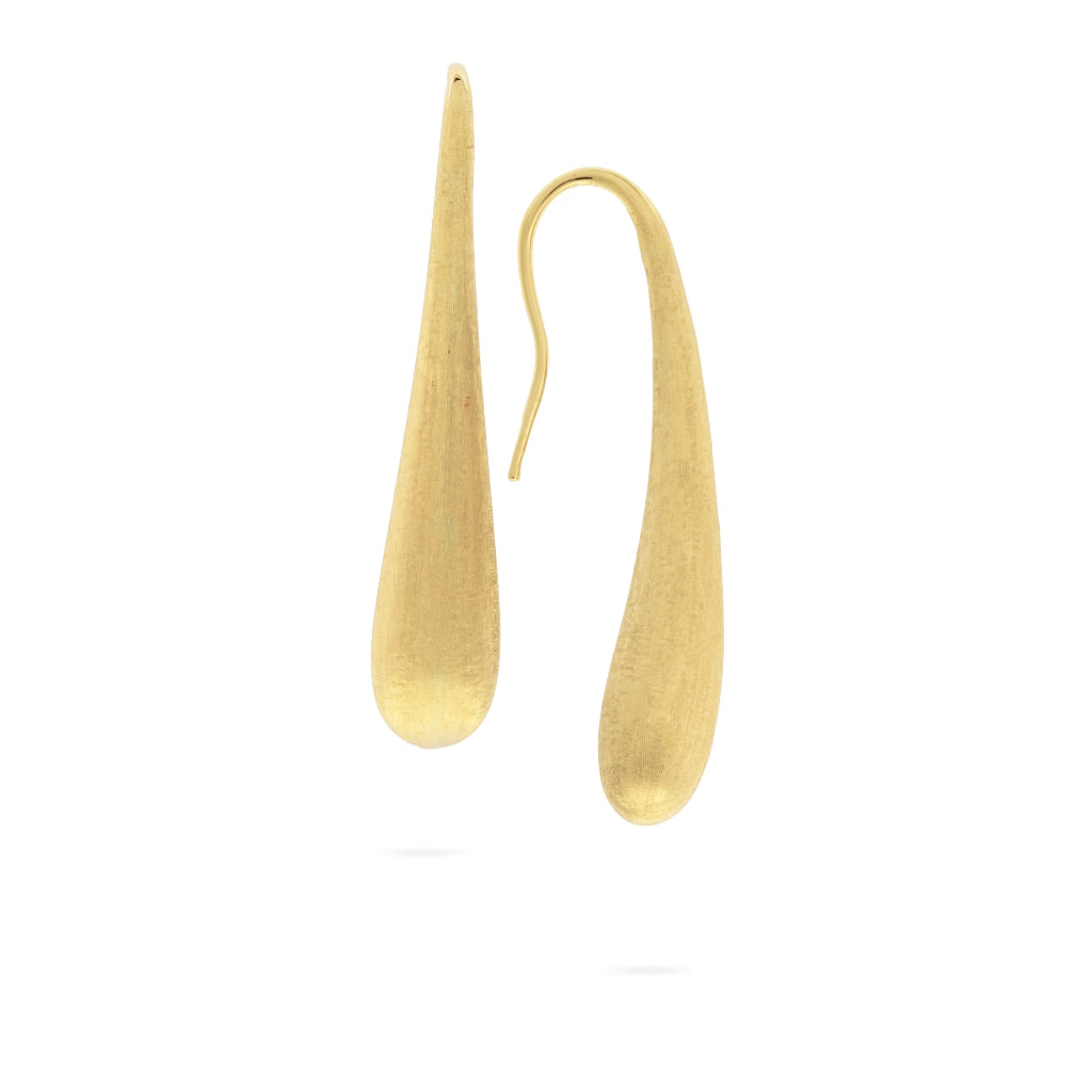 Marco Bicego® Lucia Collection 18K Yellow Gold Medium Modern Teardrop Earrings