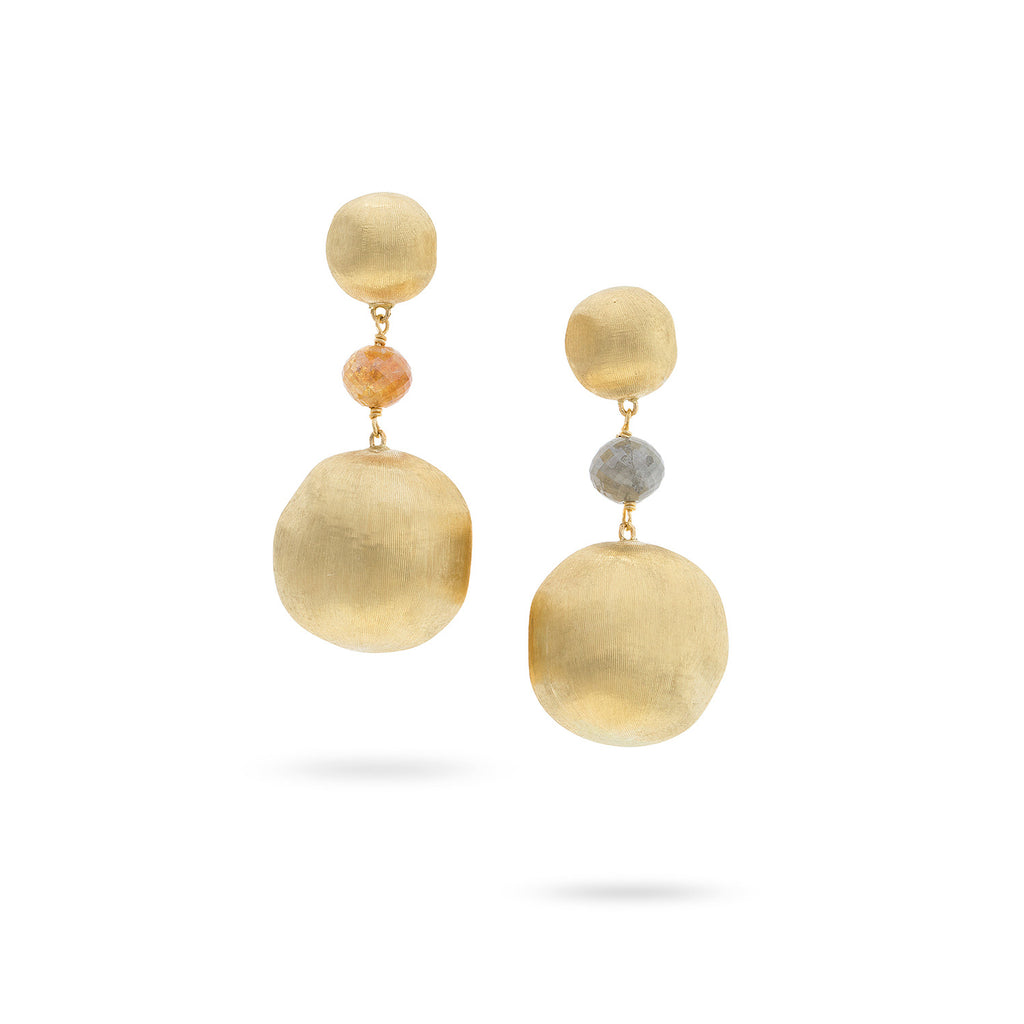 Marco Bicego® Unico Collection Multi Color Diamond Drop Earrings