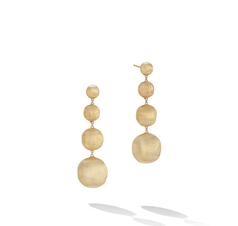 Marco Bicego® Africa Collection 18K Yellow Gold Drop Earrings