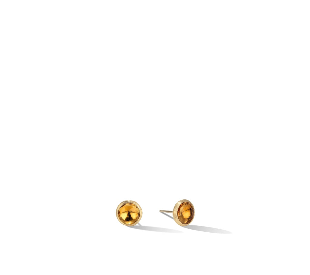 Marco Bicego® Jaipur Color Collection 18K Yellow Gold Citrine Stud Earrings