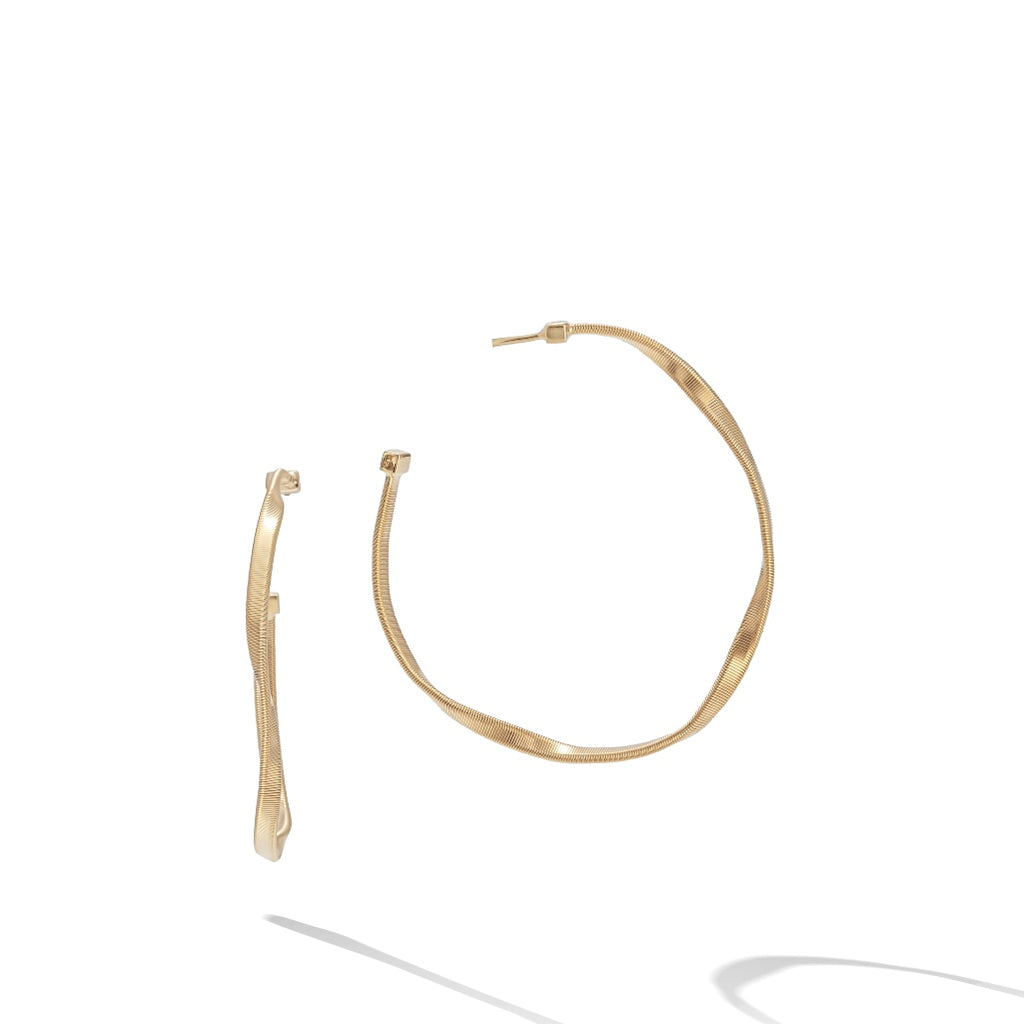 Marco Bicego® Marrakech Collection 18K Yellow Gold Medium Hoop Earrings