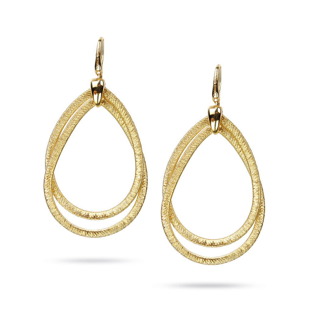 Cairo 18K Yellow Gold Medium Drop Earrings